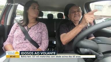 Cerca de 137 mil motoristas têm mais de 65 anos no estado - Veja as opiniões do especialista sobre os idosos ao volante.