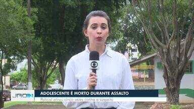 Adolescente é morto durante assalto em Nova Brasilândia - Policial atirou pelo menos cinco vezes contra o suspeito