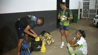 Minas, time do DF que disputa o Brasileirão feminino, afirma que foi furtado em viagem para Recife - Minas, time do DF que disputa o Brasileirão feminino, afirma que foi furtado em viagem para Recife