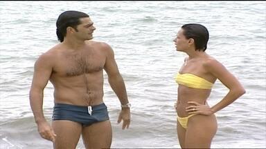 Milena e Nando se desentendem - Confira
