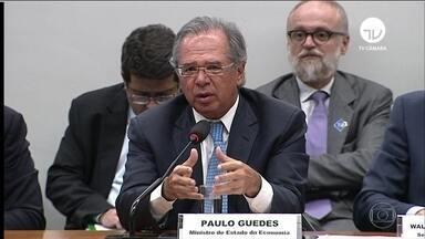 Paulo Guedes diz que Previdência virou buraco negro fiscal que ameaça engolir o Brasil - Ministro da Economia participou de audiência pública na comissão mista do orçamento e pediu que o Congresso aprove um crédito suplementar de R$ 248 bilhões para o governo pagar despesas essenciais.