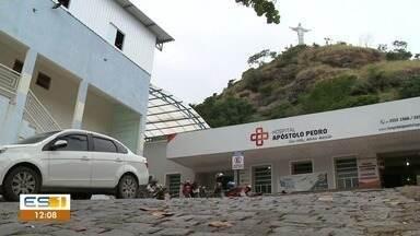 Delegacia muda de lugar e pedras ameaçam hospital em Mimoso do Sul - Hospital ainda não foi interditado.