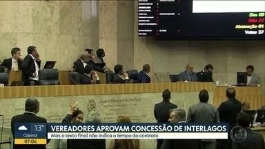 Vereadores de São Paulo aprovam a concessão do complexo de interlagos - Texto ainda não tem detalhes sobre o tempo de concessão, que pode ser de 20 a 35 anos, de acordo com as propostas recebidas pela prefeitura.