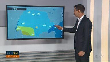 Veja como fica a previsão do tempo para Ponta Grossa e região nesta quinta-feira (16) - Em Castro, temperaturas podem variar entre 12º e 21ºC.