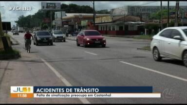 Pedestres e ciclistas cobram maior sinalização na BR-316 em Castanhal - Um idoso morreu atropelado nesta semana na rodovia