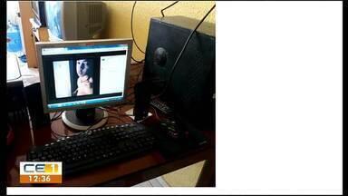 Ladrão usa computador de lan house e deixa pistas - Confira mais notícias em g1.globo.com/ce