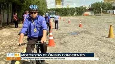 Curso prepara para dividir trânsito com ciclistas - Confira mais notícias em g1.globo.com/ce
