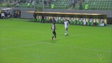 Santos e Atlético-MG empatam sem gols pela Copa do Brasil - Com tempos distintos, Peixe ficou no 0 a 0 com o Galo, na Arena Independência, pelo jogo de ida da competição nacional.