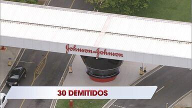Johnson & Johnson demite 30 trabalhadores na fábrica de S. José - Cortes desta quinta-feira (16) foram em setor que produz itens como absorvente, xampu e protetor solar. Segundo o Sindicato dos Químicos, demissões não afetam área produtiva.