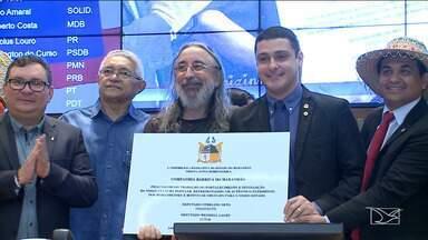 Companhia Barrica recebe homenagem na Assembleia Legislativa do Maranhão - O grupo é um dos mais populares da cultura maranhense e completa 35 anos de história em 2019.