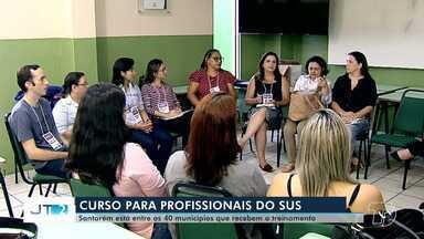 Profissionais da saúde de Santarém participam de curso de preceptoria no SUS do Ministério - Santarém está entre os 40 municípios que recebem o treinamento.