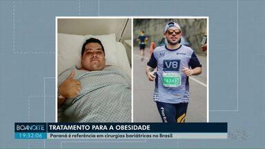 Mais da metade das cirurgias bariátricas feitas pelo SUS no Brasil são feitas no Paraná - O Estado é referência nesse tipo de cirurgia.
