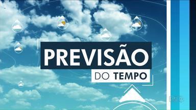 Temperaturas não sobem muito nesta quinta-feira - Pode chover 4mm em Cianorte, Paranavaí e Umuarama.