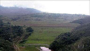 Defesa Civil de Minas alerta para risco de rompimento de barragem - Estrutura da Vale, que fica na mina de Gongo Soco, em Barão de Cocais, está se movimentando, segundo a Defesa Civil. Caso desabe, pode provocar abalo que atingiria barragem.