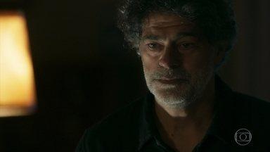 Murilo incentiva Gabriel a conversar com Feijão - Os capangas de Olavo se preparam para invadir o casarão