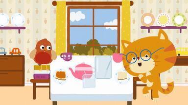Geleia - A geleia acaba no café da manhã de Misho e Robin. Então, eles decidem sair para colher maçãs, mas onde elas foram parar?