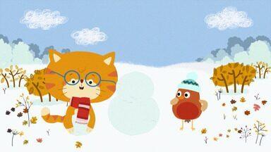 A Grande Corrida - Misho e Robin vão competir com Castor, Coruja e Esquilo em uma corrida de trenó. Alguns se enrolam, outros jogam sujo, mas Misho e Robin ajudam.