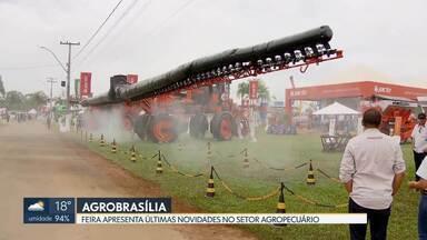 Agrobrasília termina neste sábado no Pad-DF - Mais de 400 expositores apresentam as últimas novidades no setor agropecuário.