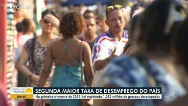 Economia: Bahia tem a segunda maior taxa de desemprego do país - No primeiro trimestre deste ano foi registrado 1,282 milhão de pessoas desocupadas.