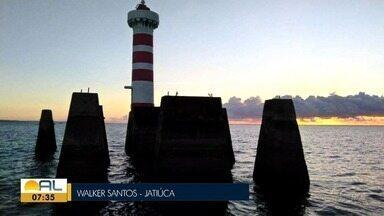 Veja fotos do amanhecer desta sexta-feira em Alagoas - Telespectador pode enviar fotos pelo Whatsapp 99403-0740
