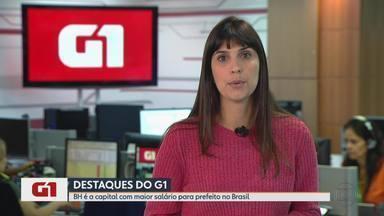 G1 no MG1: BH é a capital com maior salário para prefeito no Brasil - Alexandre Kalil ganha mais de R$ 31 mil. Cento e vinte e sete servidores recebem acima deste valor. Em fevereiro, um único funcionário teve remuneração bruta de mais de R$72 mil.