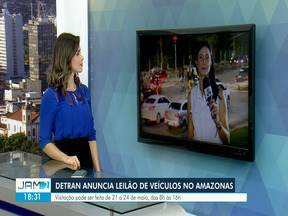 Detran anuncia leilão com mais de 500 veículos no Amazonas - Com 509 motocicletas e 35 automóveis, leilão será realizado nas modalidades presencial e online.