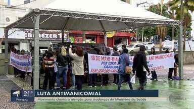 Luta antimanicomial: Movimento chama atenção para mudanças do Ministério da Saúde - Luta antimanicomial: Movimento chama atenção para mudanças do Ministério da Saúde