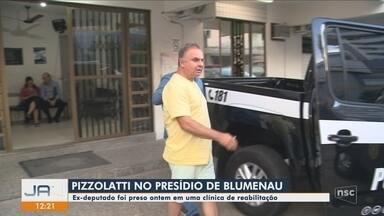 Ex-deputado João Pizzolatti é preso em clínica de reabilitação na Grande Florianópolis - Ex-deputado João Pizzolatti é preso em clínica de reabilitação na Grande Florianópolis