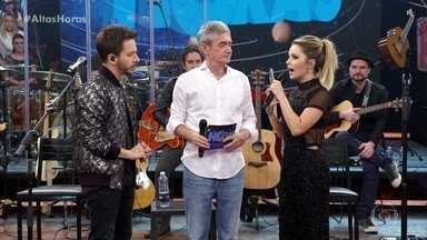 Sandy & Junior contam que Xororó foi fundamental para retorno da dupla - Eles explicam como foi o planejamento da nova turnê