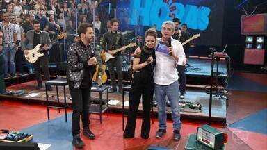 Programa de 18/05/2019 - Especial Sandy & Júnior: dupla faz show exclusivo no palco do 'Altas Horas', leva seus fãs às lágrimas e canta ao lado de Xororó, Michel Teló, Maria Gadú e Silva.
