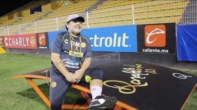 O surpreendente desafio de Maradona como treinador do Dorados, time da segunda divisão do México, na cidade violenta de Culiacán - O surpreendente desafio de Maradona como treinador do Dorados, time da segunda divisão do México, na cidade violenta de Culiacán