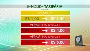 ANEEL aumenta valores das bandeiras tarifárias das contas de luz - À partir da bandeira amarela, a conta vai ficar mais cara.
