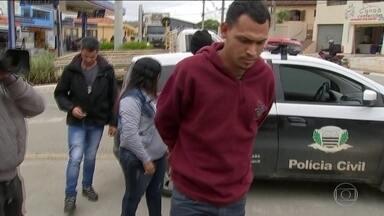 Polícia de SP prende traficante acusado de mandar assassinar a menina Vitória Gabrielly - De acordo com a polícia, Odilan Alves comandava o tráfico na região e mandou sequestrar uma menina da mesma idade de Vitória Gabrielly, que serua irmã de outro traficante.