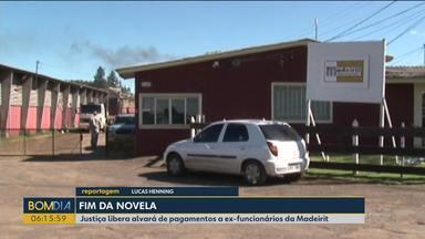 Justiça libera alvará de pagamentos a ex-funcionários da Madeirit - A empresa declarou falência em 2009