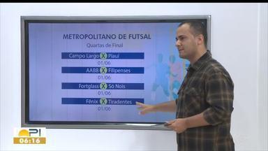 Classificados do Campeonato Metropolitano de Futsal são definidos - Classificados do Campeonato Metropolitano de Futsal são definidos