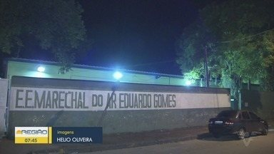 Gás lacrimogênio invade escola e alunas precisam de atendimento médico - Samu foi acionado após o gás atingir a Escola Estadual Marechal do Ar Eduardo Gomes, em Vicente de Carvalho.