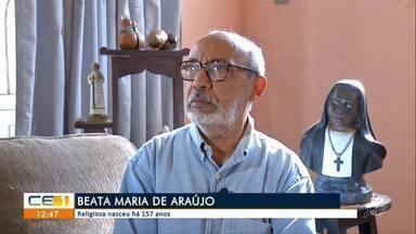 Moradores de Juazeiro do Norte celebram aniversário da Beata Maria de Araújo - Confira mais notícias em g1.globo.com/ce