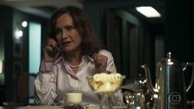 Marlene acerta com Linda a indicação de Maria para um trabalho - Dorotéia pede para usar a cozinha de Marlene