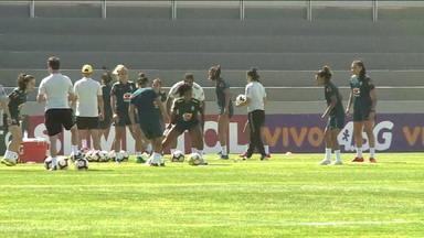Seleção feminina treina em Portugal para a Copa do Mundo da França - Seleção feminina treina em Portugal para a Copa do Mundo da França