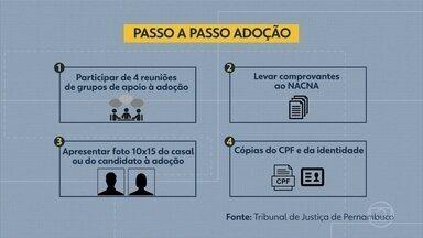 Entenda como funciona o processo de adoção - Evento em Paulista tira dúvidas sobre o tema.