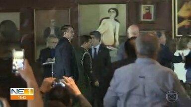 Bolsonaro visita o Nordeste pela primeira vez desde que foi eleito - Presidente participou da reunião do conselho deliberativo da Sudene, no Recife
