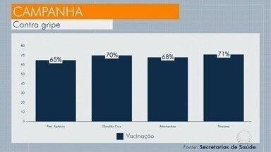 Campanha de vacinação contra a gripe prossegue em andamento - Somente em Presidente Prudente, quase 50 mil doses já foram aplicadas.