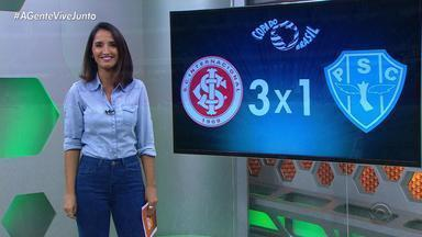 Globo Esporte RS - Bloco 1 - 24/05/19 - Assista ao vídeo.