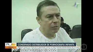 Homem é condenado em Friburgo por armazenamento e distribuição de pornografia infantil - Segundo PF, ele era um dos 100 maiores distribuidores de pornografia infantil do mundo