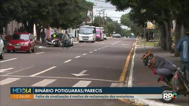 Motoristas e pedestres reclamam de binário no bairro Santo Onofre - Segundos eles, motoristas estão trafegando em alta velocidade.