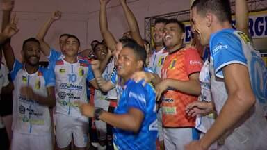 Itaporanga é o campeão do 1º turno do Campeonato Sergipano de Futsal - Equipe superou o Confiança na prorrogação. Confronto aconteceu no SESI do Augusto Franco.