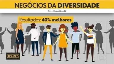Empresas que investem em diversidade tem resultados melhores - Na série Trampo, você vai ver que quem investe em diversidade tem resultados 40% melhores.