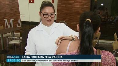 Seis pessoas já morreram por causa da gripe em Foz - E mesmo assim ainda é baixa a procura pela vacina na cidade.