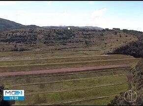 Moradores de Barão de Cocais estão apreensivos com possibilidade de desastre em mina - Vale informou que talude pode cair a qualquer momento.