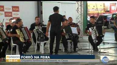 Orquestra Sanfônica se apresenta na Ceasa - Orquestra Sanfônica se apresenta na Ceasa